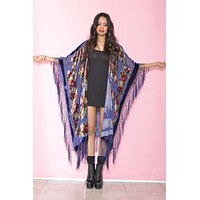 Beaded Victoriana Silk Robe