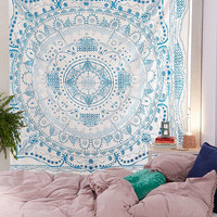 Ink Drawn Medallion Tapestry | Urban Outfitters