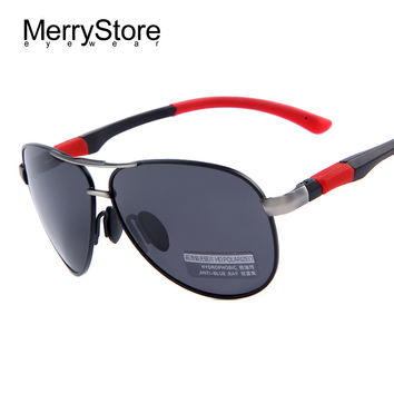 New High Quality Polarized HD Sunglasses For Men
