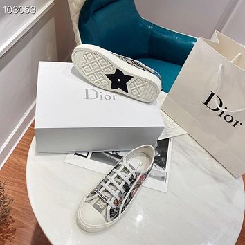 Christian Dior Women's New Fashion Casual Shoes Sneaker Sport Running Shoes 08266
