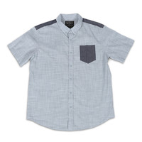 Mr Jack Business Casual Pocket Button Down Shirt