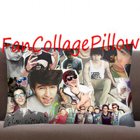 "Custom Pillow Casesstay cloudy Jc Caylen  collage ,available size 18"" x 18"", 16"" x 24"", 20"" x 30"" one side and two side cover"