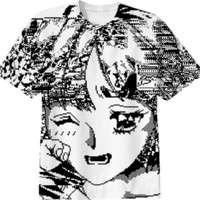 Crying created by Dataerase | Print All Over Me