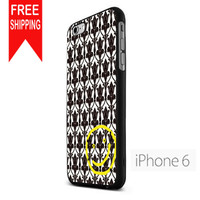 Sherlock Holmers Pattern  Smile  Damask FDL iPhone 6 Case
