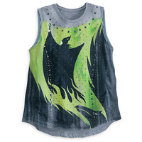 Maleficent Gray Studded Tank for Women