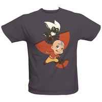 Avatar The Last Airbender: Aang Avatar Chibi Tee - Adult | NickShop