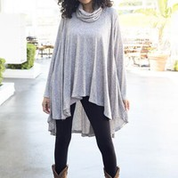 Cowl Neck Swing Top