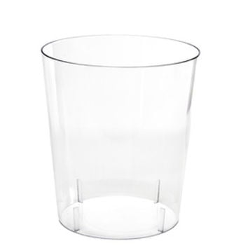 Clear Plastic Cylindrical Candy Container - Small