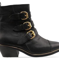 Friend Of Mine Eastwood Boot in Black Gold at Solestruck.com