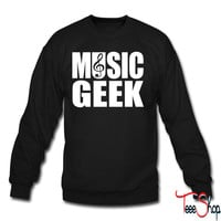 Music Geek crewneck sweatshirt