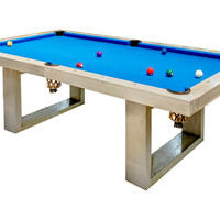 Indoor Pool Table Blue, Game Tables