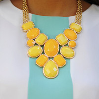 The Princess Necklace: Yellow | Hope's