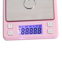 100g/0.01g Portable Digital Pocket Scale for Jewelry/Gold/Weed P321 g/ozt/ct/oz Pink - m.tmart.com