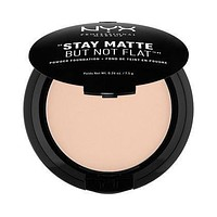 NYX Stay Matte But Not Flat Powder Foundation - Porcelain - #SMP16
