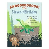 The Good Dinosaur Birthday 4.25x5.5 Paper Invitation Card