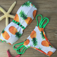 Pineapple Triangle Bikini