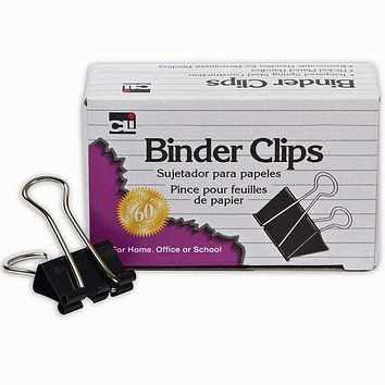 Binder Clips 12 Ct 1 In Large
