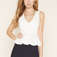 Flat-Front Shorts   Forever 21 - 2000204306