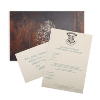 Personalised Hogwarts Acceptance Letter | The Harry Potter Shop at Platform 9 3/4