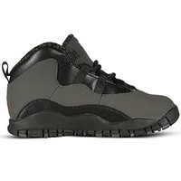 "NIKE Jordan Retro 10"" Dark Shadow Dark Shadow/True Red-Black (Toddler)"