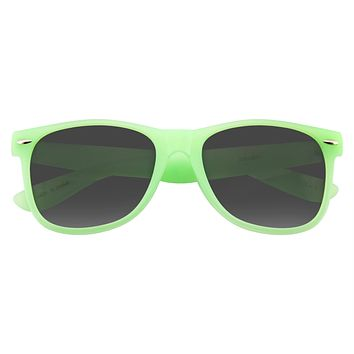 Sunglasses Retro Fashion Translucent Color Horned Rim Sunglasses