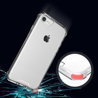 OneMinus Anti knock Clear Protective Case For iphone 7 plus Case Coque Shockproof Hard back cover For iphone 6s 6 plus Fundas