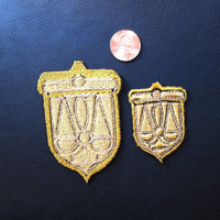 Ace Attorney Themis Academy Cosplay Patches