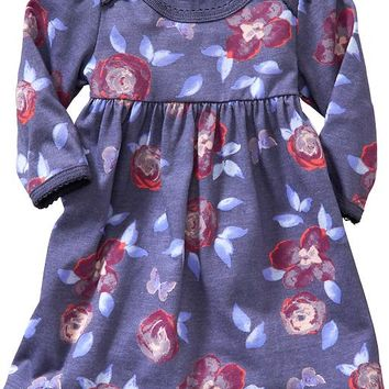 Old Navy Scallop Trim Dresses For Baby