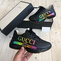 GUCCI 2021 Retro jogging shoes