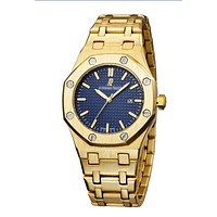 AP Audemars Piguet Fashion Men Watch L-PS-XSDZBSH Gold