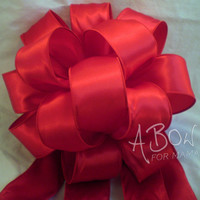 Deep Red Love Bow from A Bow For Mama