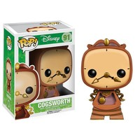 Funko Pop! Disney Beauty and the Beast Vinyl Figure Cogsworth #91 - Toys on Fire