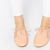 ASOS MAN OVER BOARD Cut Out Lace Up Shoes