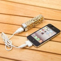 2500mah Power Charger Battery Bank for Iphone 4/4s and Camera, Various Cell Phones and Digital Devices