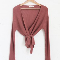 Rumi Wrap Sweater - More Colors