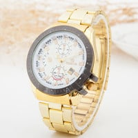 Stylish Great Deal Awesome New Arrival Trendy Designer's Good Price Gift Luxury Men Stainless Steel Quartz Watch [6542573507]