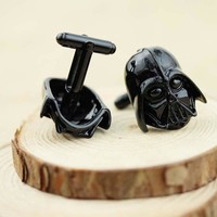 Men's Cufflinks Classic Movie Series Wars Trendy Gift