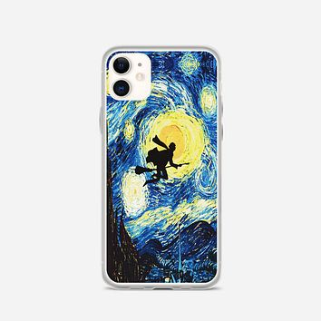 Starry Night With Harry Potter iPhone 11 Case