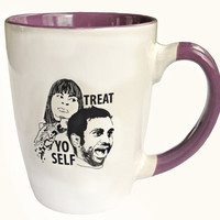 Parks and Recreation - Treat Yo Self Mug