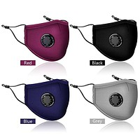 Washable Adjustable Face Masks With Vents and PM2.5 Filter