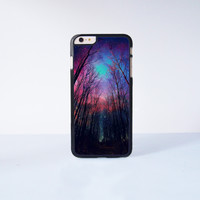 "Star Night Wood  Plastic Phone Case For iPhone iPhone 6 Plus (5.5"") More Case Style Can Be Selected"