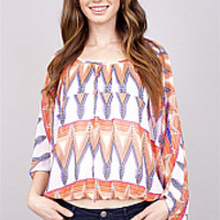 Orange U Adorable Top : Cousin Couture