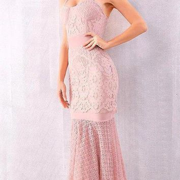 Penelope Lace Bandage Dress