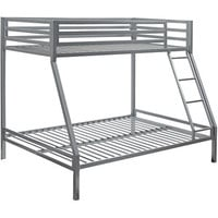 Walmart: your zone premium twin-over-full bunk bed, Multiple Colors