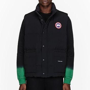 Canada Goose Black Down Freestyle Puffer Vest