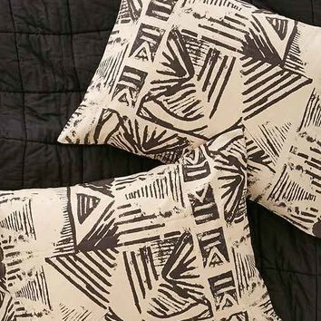 Blockprint Slub Pillowcase Set