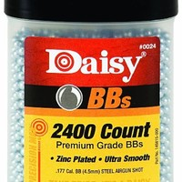 Daisy Outdoor Products 2400 ct BB Bottle (Silver, 4.5 mm)