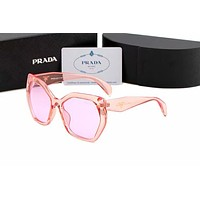 PRADA Trending Women Stylish Summer Style Sun Shades Eyeglasses Glasses Sunglasses Pink I-AJIN-BCYJSH