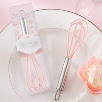 """""""The Perfect Mix"""" Pink Kitchen Whisk - Elegant Gift Gallery"""