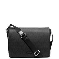 Jet Set Large Logo Messenger | Michael Kors